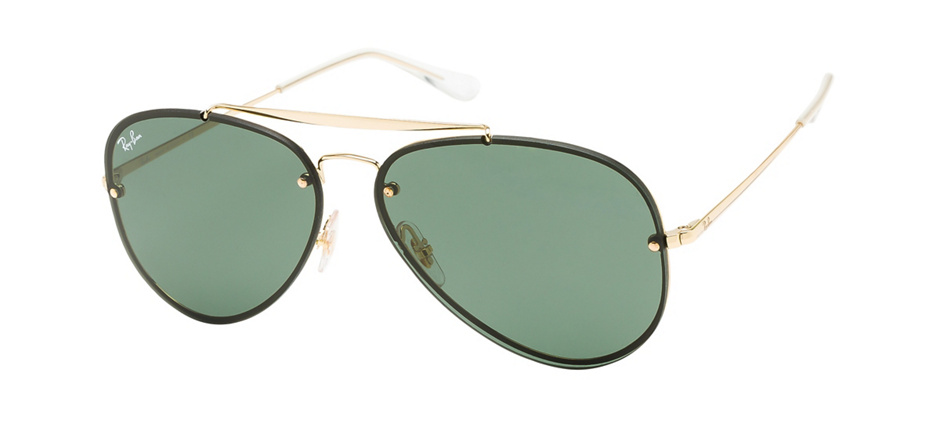 product image of Ray-Ban Blaze Aviator-58 Gold Green Classic