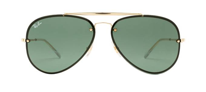 product image of Ray-Ban Blaze Aviator Gold Green Classic
