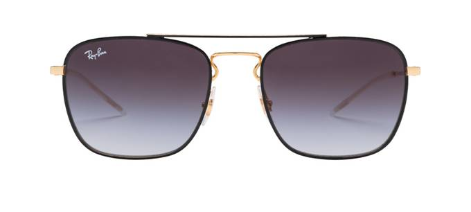 product image of Ray-Ban RB3588-55 Black Gold