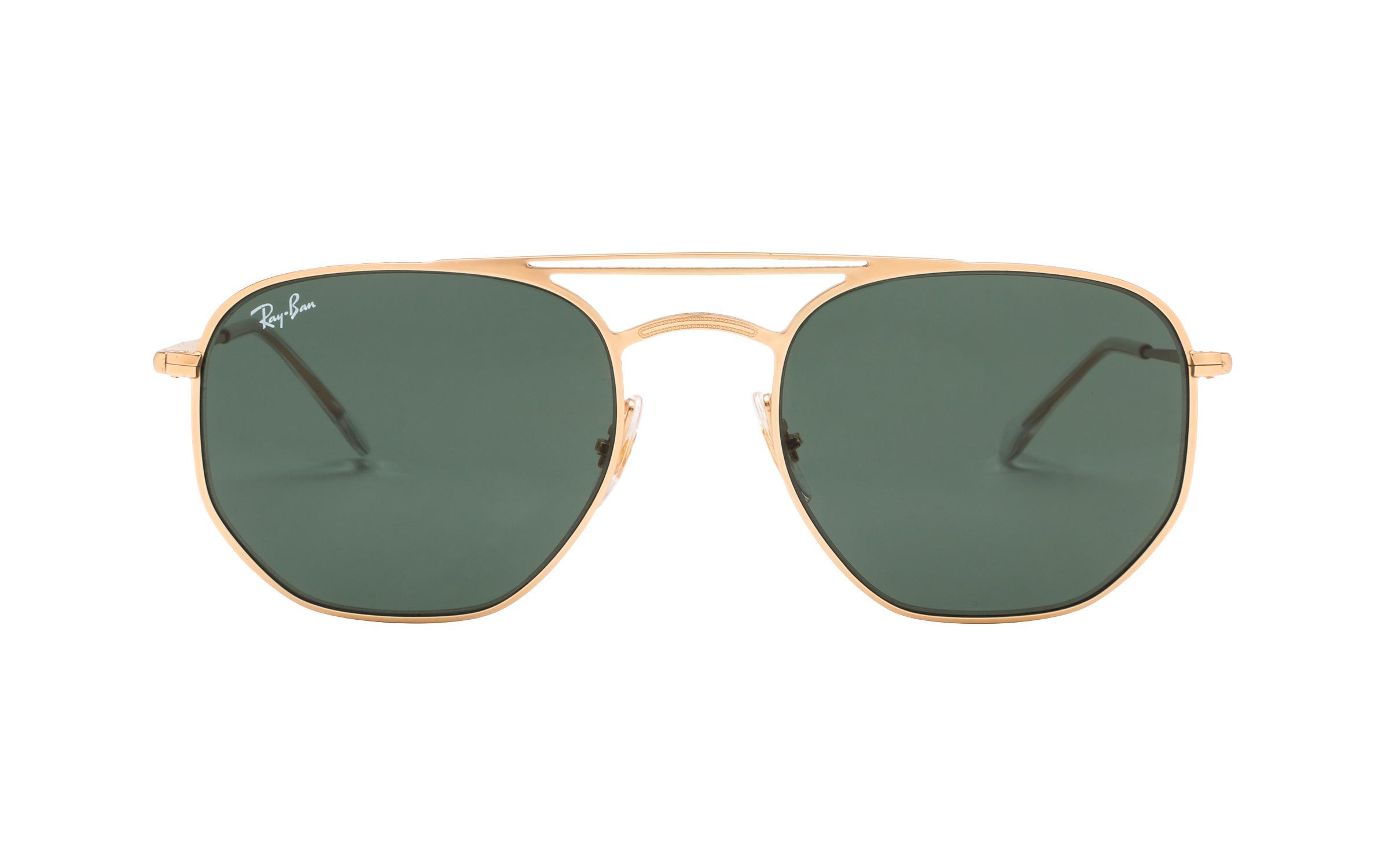 http://www.coastal.com/ - Luxottica Ray-Ban RB3609 9140/71 54 Sunglasses in Gold | Plastic/Metal – Online Coastal