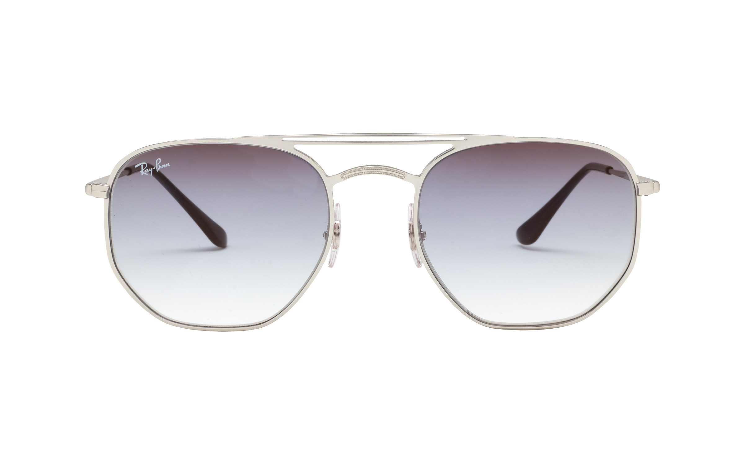 http://www.coastal.com/ - Luxottica Ray-Ban RB3609 9142/0S 54 Sunglasses in Silver | Plastic/Metal – Online Coastal