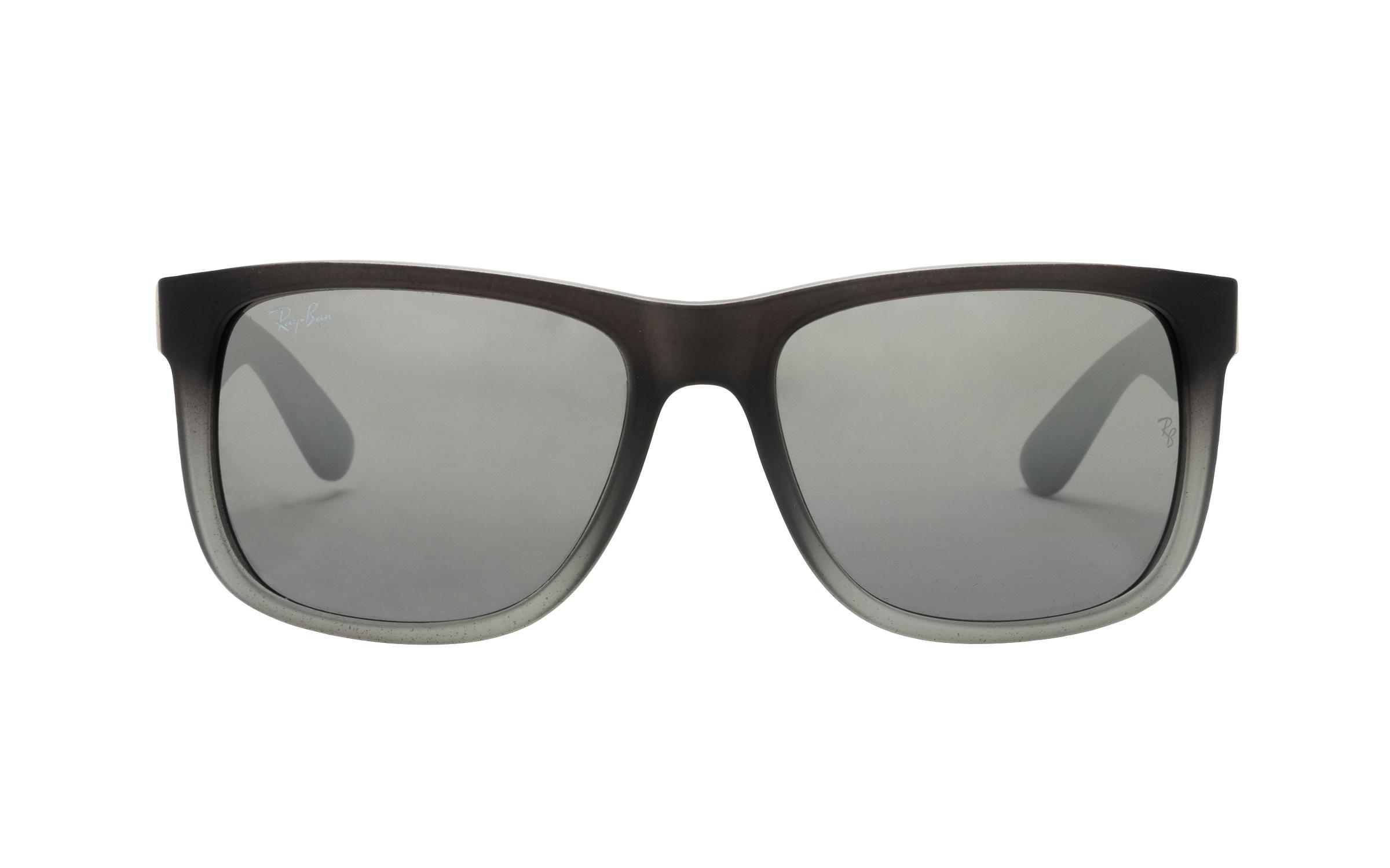 coastal.com - RayBan Ray-Ban RB4165 852/88 Rubber Grey/Grey Transp 55 Sunglasses – Online Coastal 144.00 USD