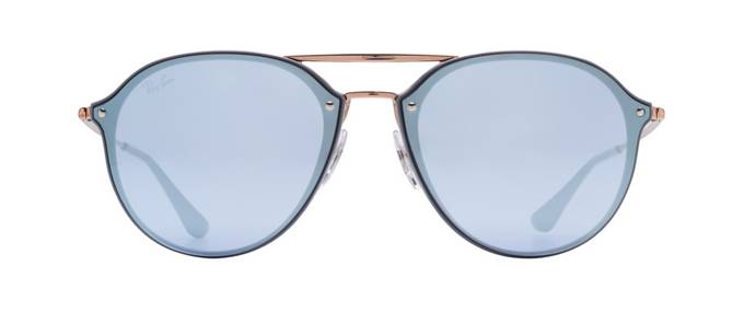 e0ffa9d3d949 product image of Ray-Ban Blaze Double Bridge Grey Bronze Blue Silver Mirror