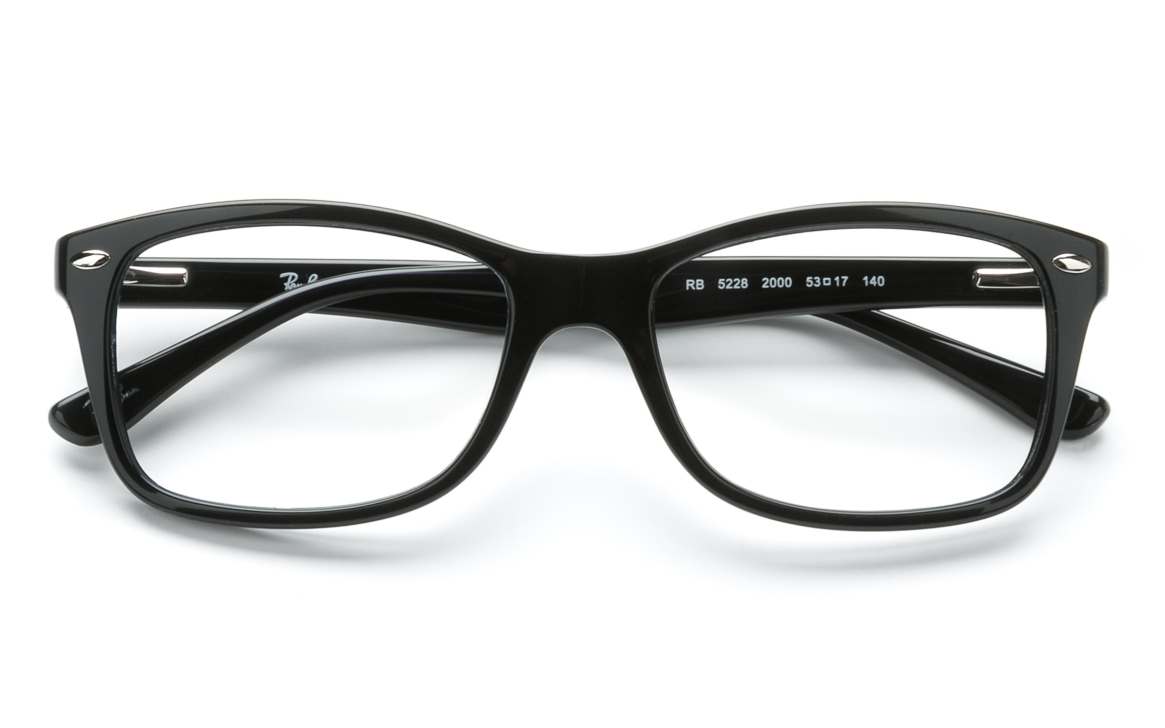 designer glasses frames for men y3xw  product image of Ray-Ban RB5228-53 Black