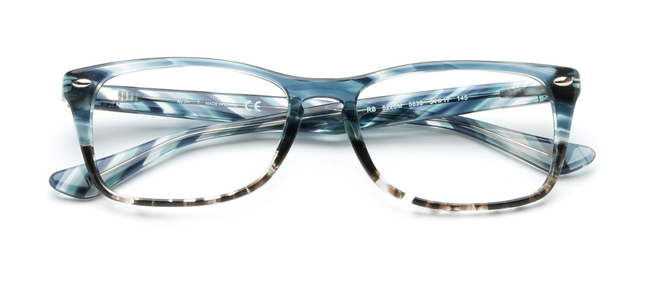 product image of Ray-Ban RB5228M-54 Blue Grey Stripe