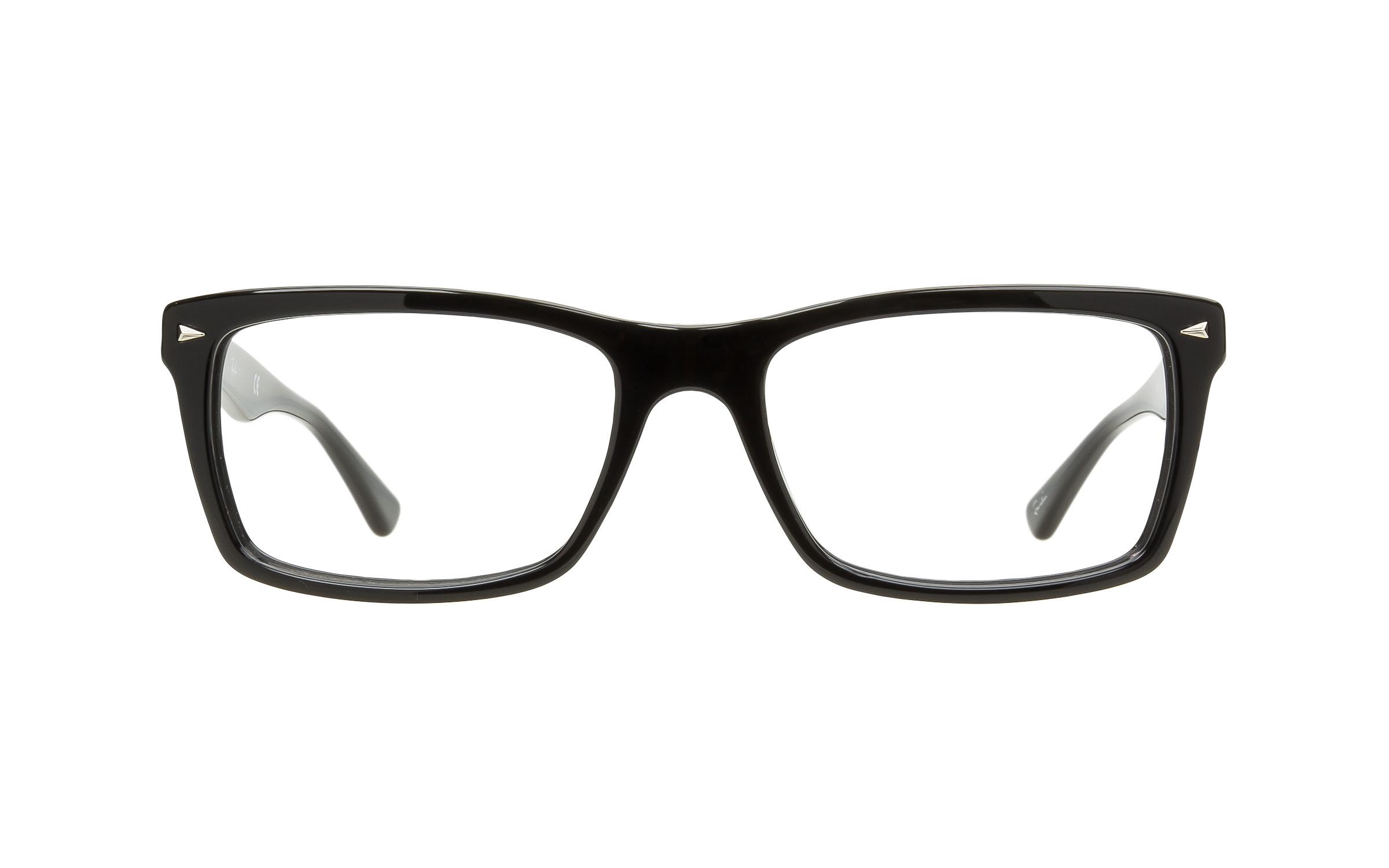 http://www.coastal.com/ - Luxottica Ray-Ban RB5287 2000 Eyeglasses and Frame in Black – Online Coastal
