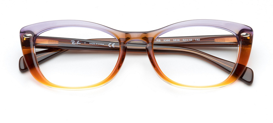 88dfd1f81ece0 product image of Ray-Ban RB5366-54 Trigradient Brown Violet