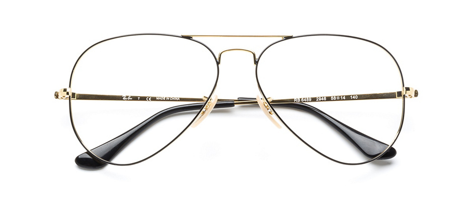 product image of Ray-Ban RB6489-58 Black Gold