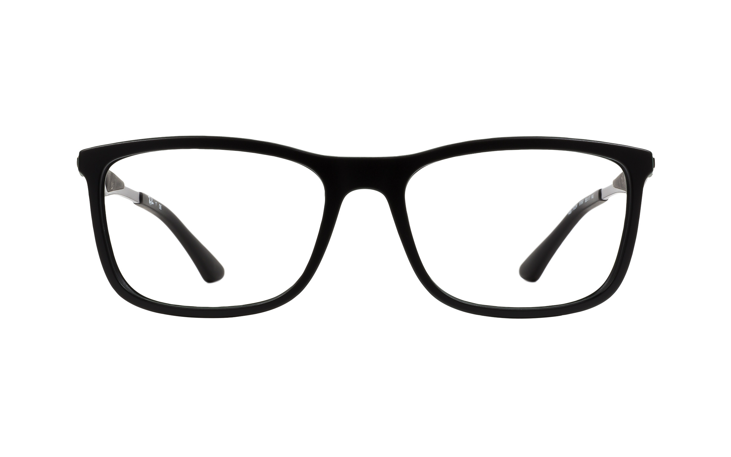 Luxottica Ray-Ban Wayfarer RB7029 5197 Eyeglasses and Frame in Black/Green - Online Coastal