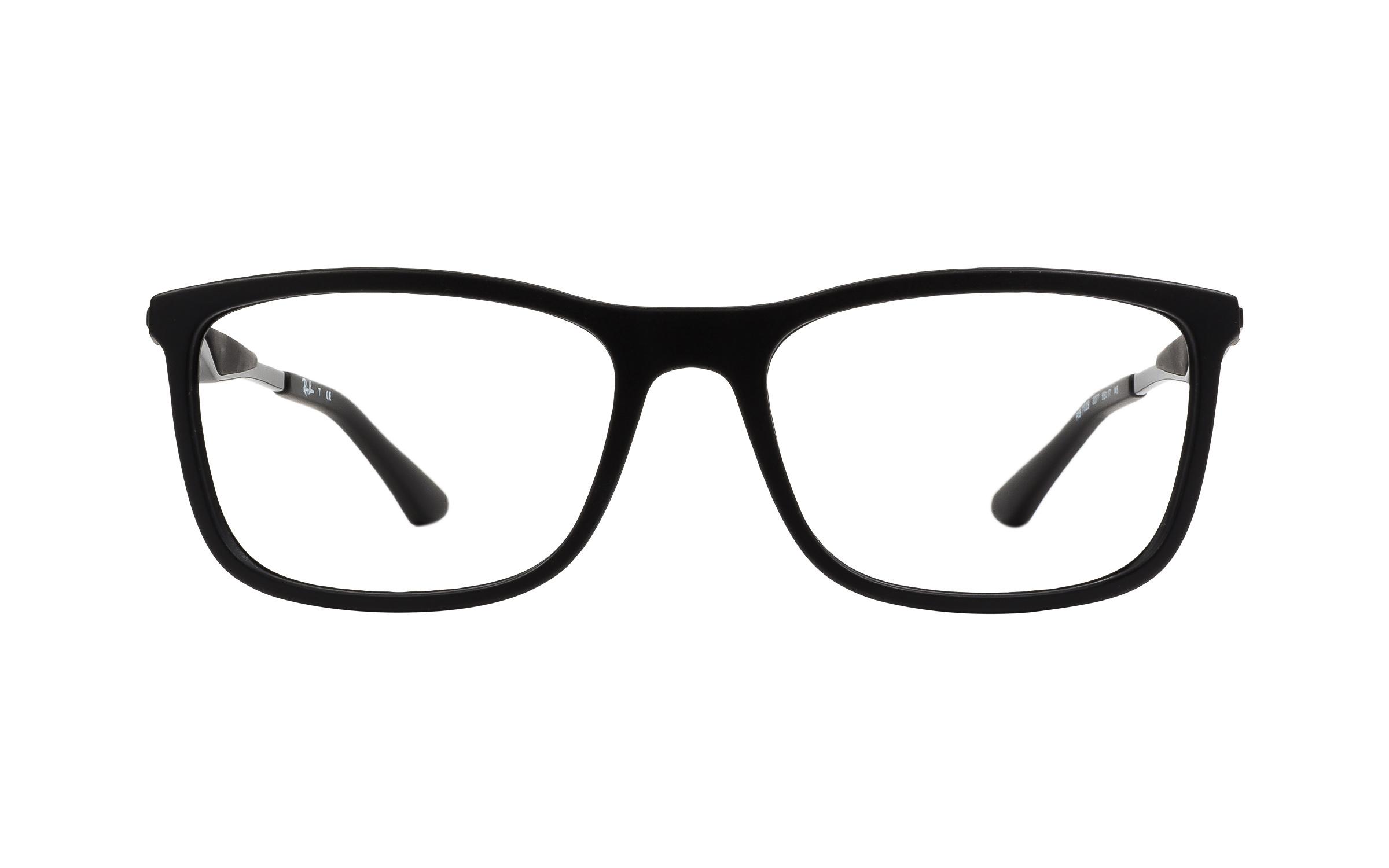 http://www.coastal.com/ - Luxottica Ray-Ban Wayfarer RB7029 2077 Eyeglasses and Frame in Matte Black – Online Coastal