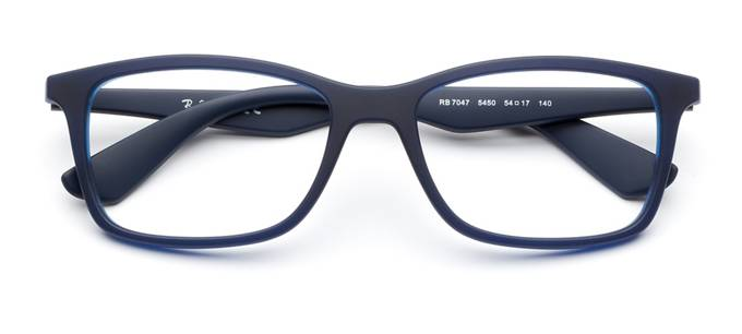 101495eb9e7 product image of Ray-Ban RB7047-54 Matte Blue
