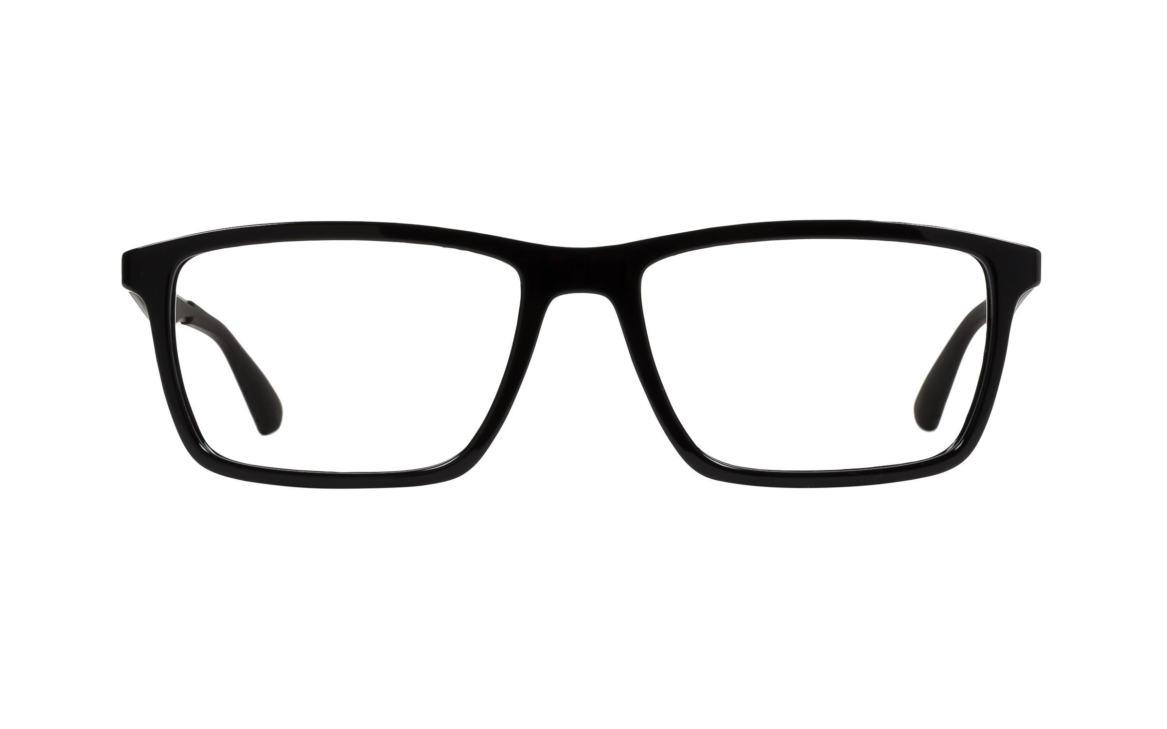 http://www.coastal.com/ - Luxottica Ray-Ban Wayfarer RB7056 2000 Eyeglasses and Frame in Shiny Black – Online Coastal