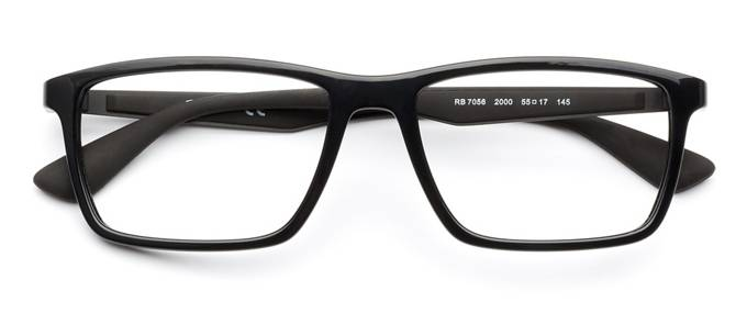 ab82d37e178 product image of Ray-Ban RB7056-55 Shiny Black