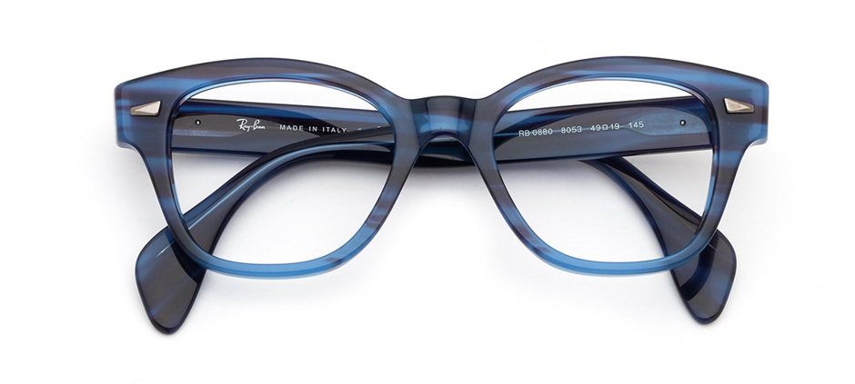 product image of Ray-Ban RX0880-49 Striped Blue