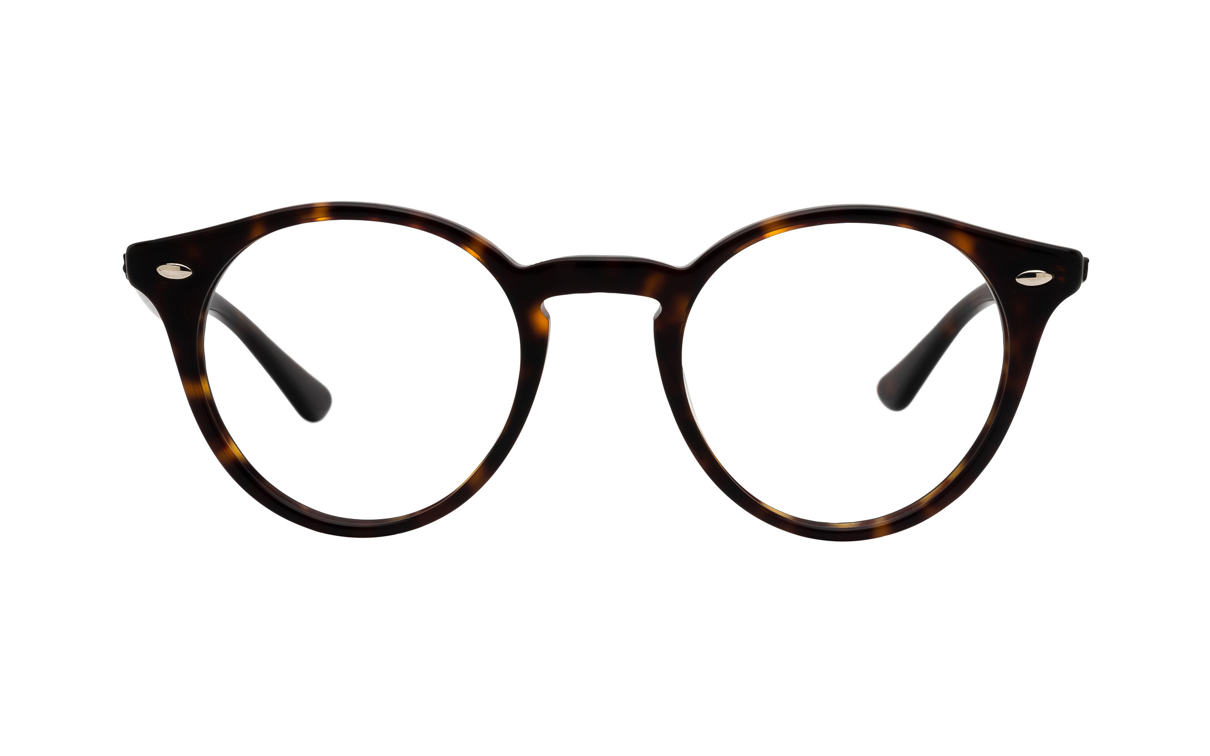http://www.coastal.com/ - Ray-Ban RX2180V 2012 (47) Eyeglasses and Frame in Dark Havana Tortoise/Brown | Acetate/Metal – Online Coastal