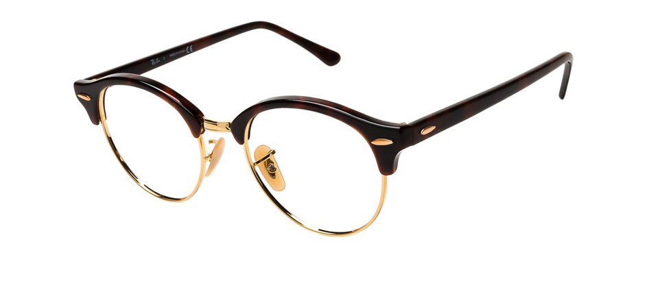 product image of Ray-Ban Clubround Brown Tortoise