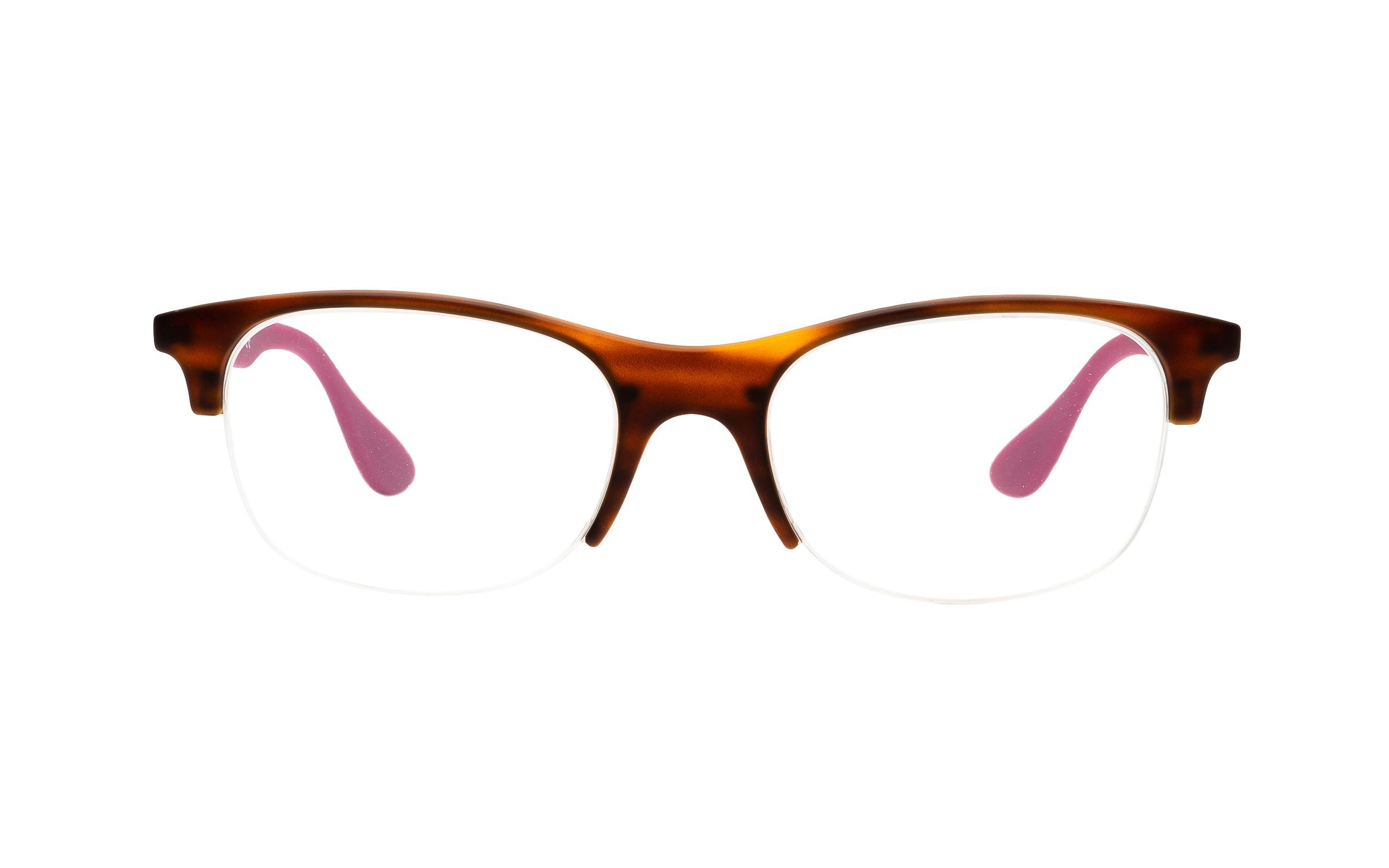 Luxottica Ray-Ban RX4419V 5889 (54) Eyeglasses and Frame in Red Havana Tortoise - Online Coastal