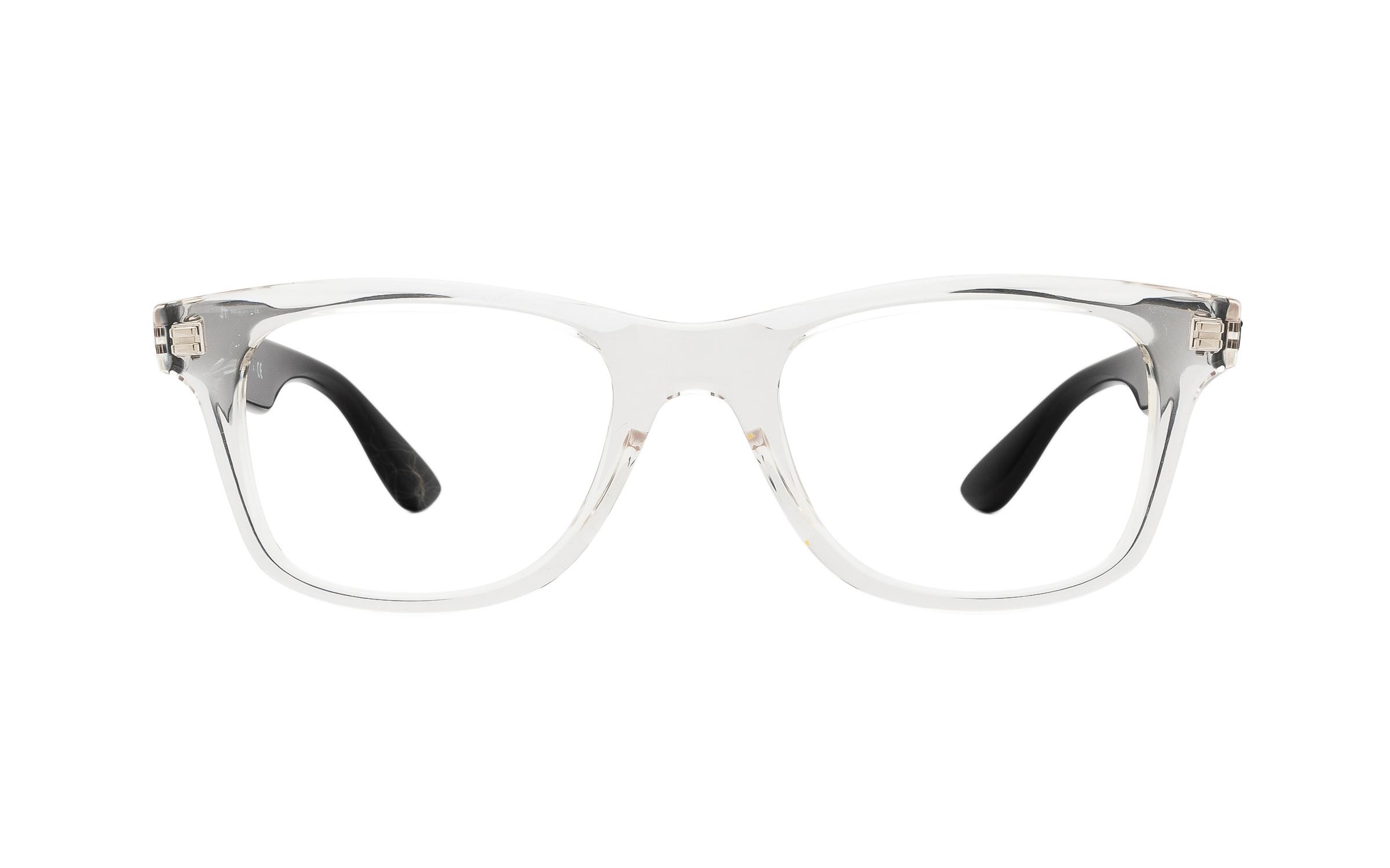 http://www.coastal.com/ - Ray-Ban RX4640V 5943 (50) Eyeglasses and Frame in Transparent Clear – Online Coastal