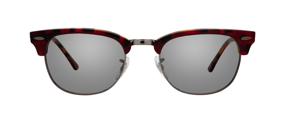 product image of Ray-Ban Clubmaster Havane rouge