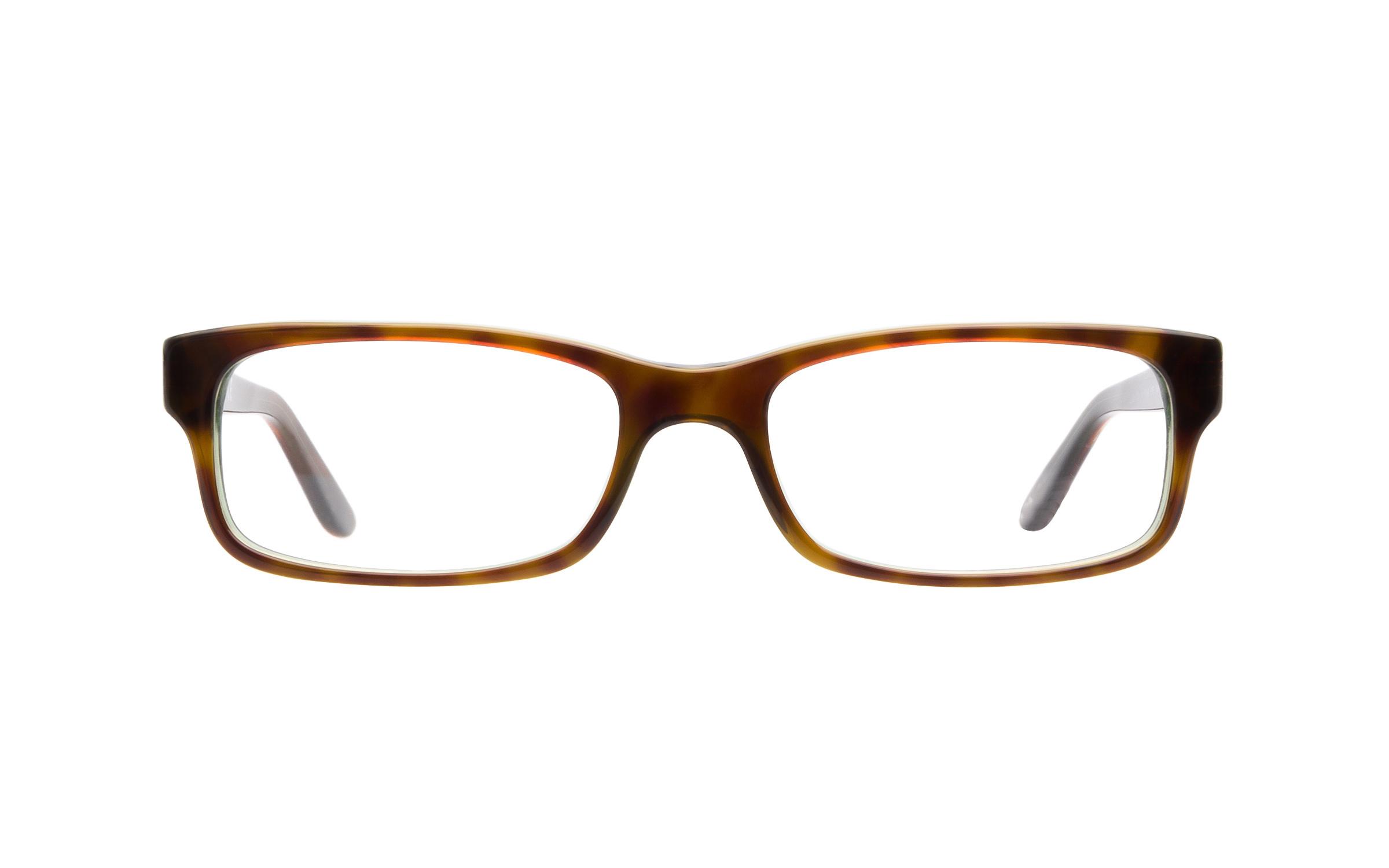 http://www.coastal.com/ - Luxottica Ray-Ban 5187 2445 Green Eyeglasses and Frame in Havana Tortoise – Online Coastal
