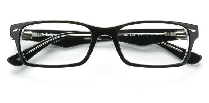 product image of Ray-Ban RX5206 Black On Transparent