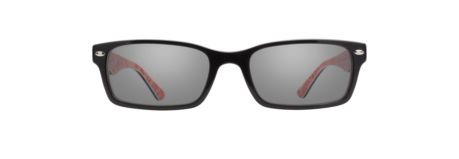 product image of Ray-Ban RX5206 Black Red Texture