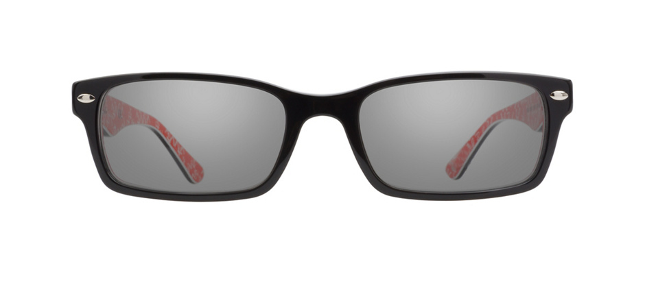 product image of Ray-Ban RX5206 Noir/rouge texturé