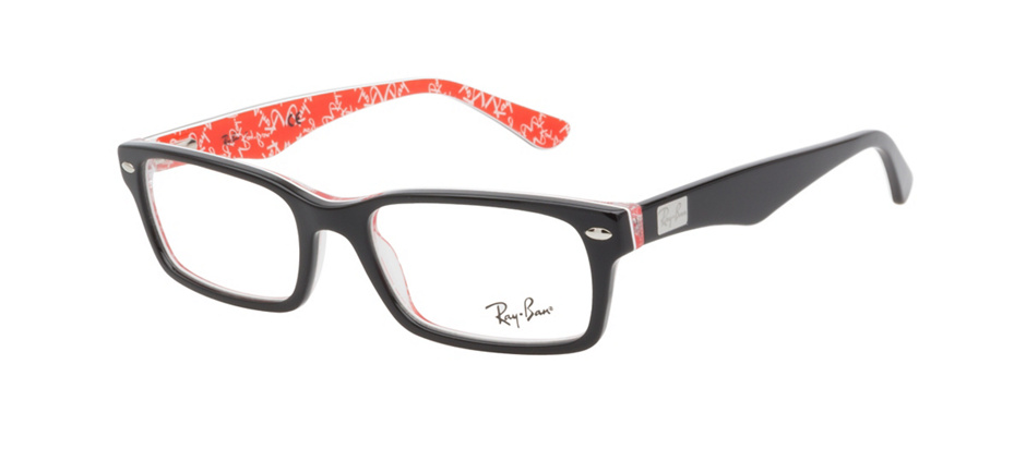 product image of Ray-Ban RX5206 Black Red