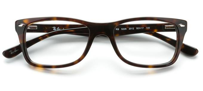 783354b178 product image of Ray-Ban RX5228-50 Dark Havana