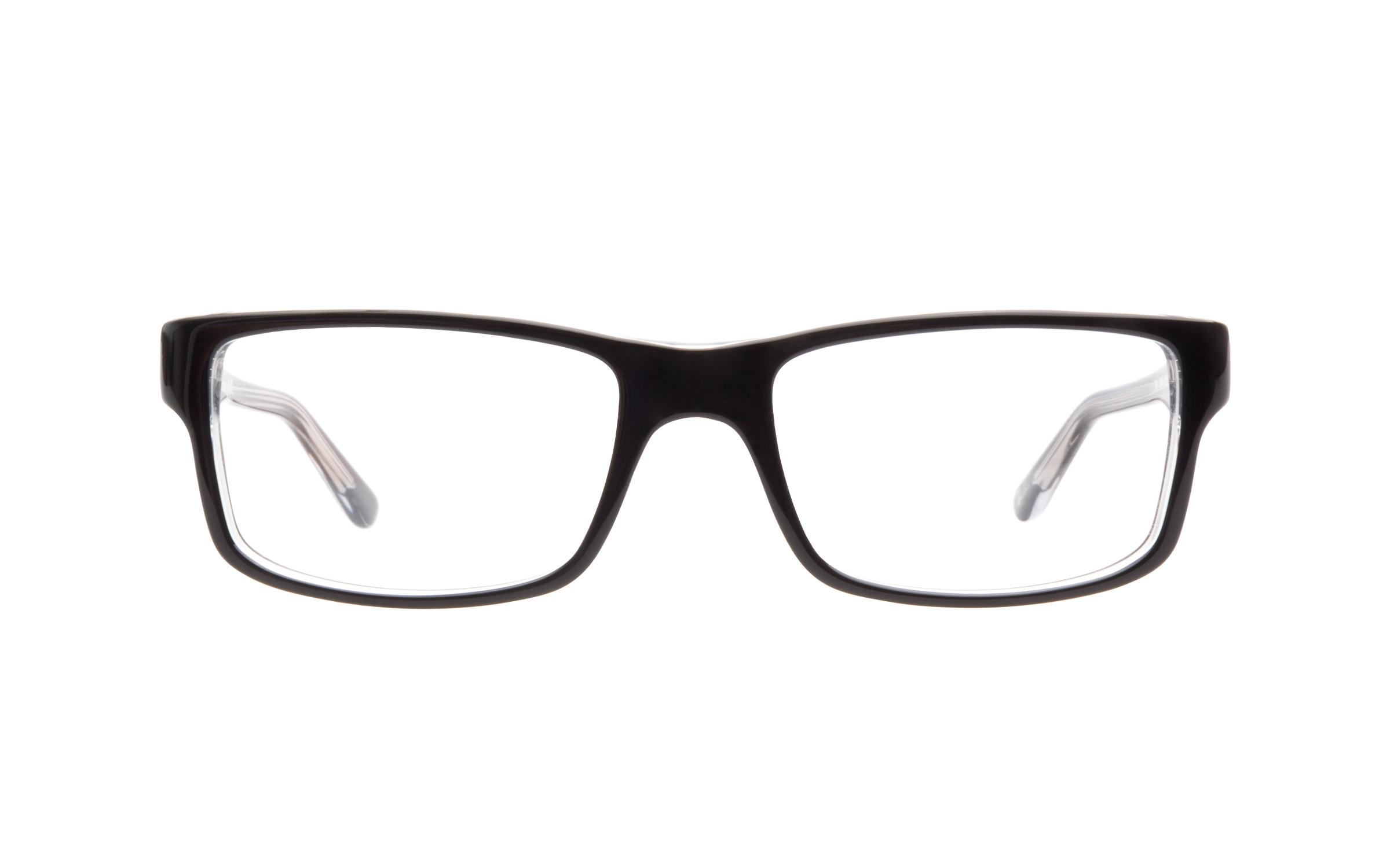 Ray-Ban RB5245 2034 Eyeglasses and Frame in Crystal Black | Acetate - Online Coastal