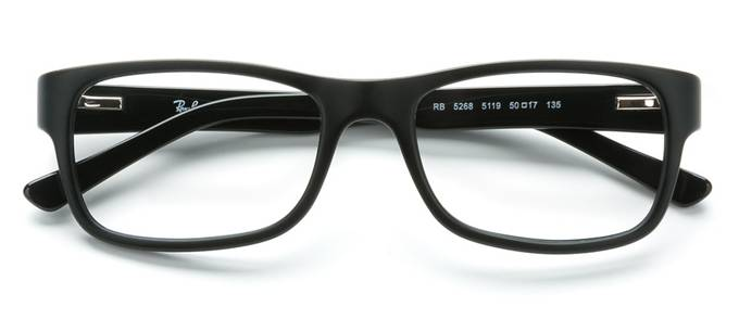 product image of Ray-Ban RX5268-50 Black Sand Black