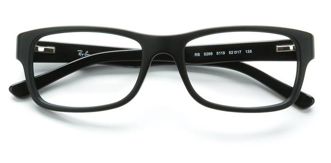 product image of Ray-Ban RX5268-52 Black Sand Black