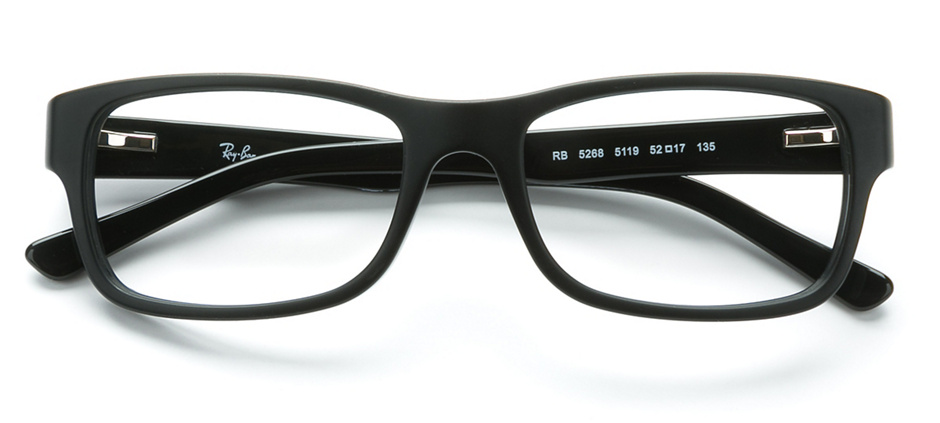 d6fc230c95d11 product image of Ray-Ban RX5268-52 Black Sand Black