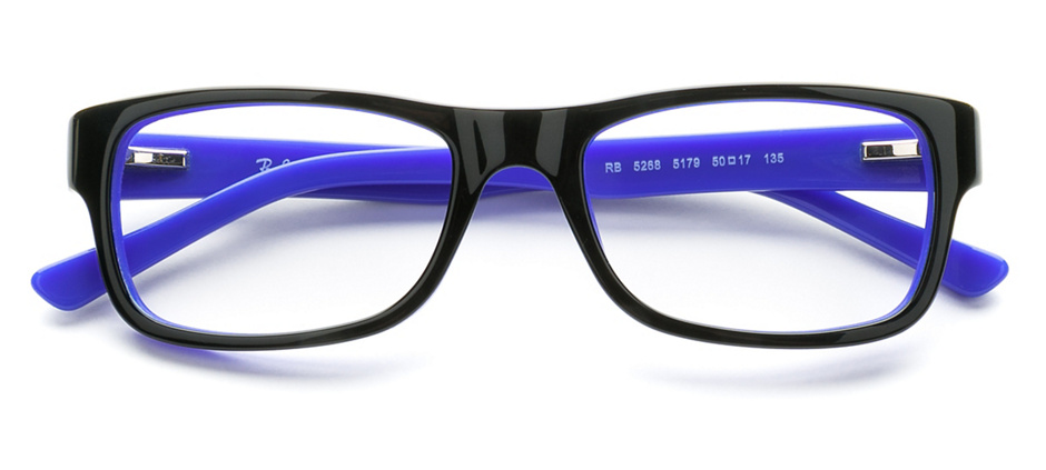 986a91c14ab product image of Ray-Ban RX5268 Black Blue