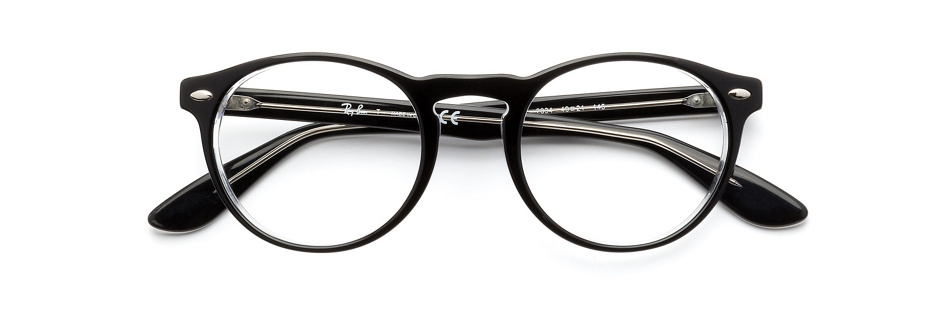 product image of Ray-Ban RX5283 Black Transparent