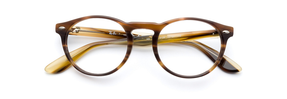 product image of Ray-Ban RX5283 Striped Brown