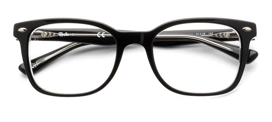 efabb1a7f74 product image of Ray-Ban RX5285-53 Black Crystal