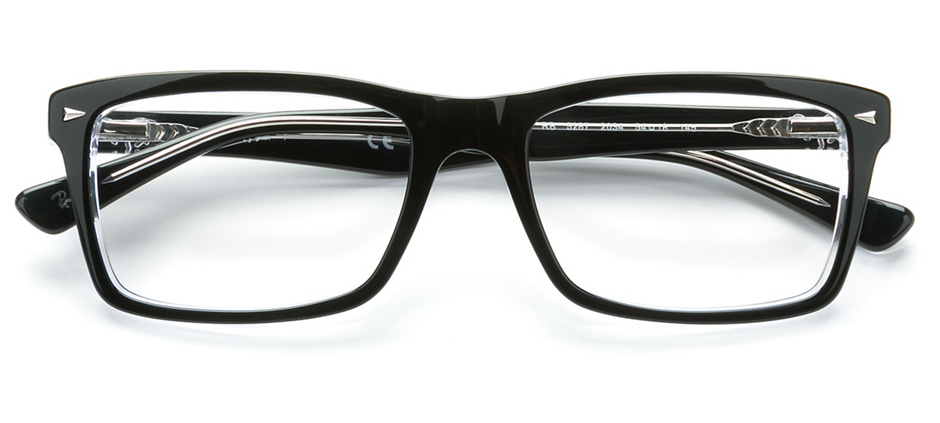 product image of Ray-Ban RX5287 Noir transparent