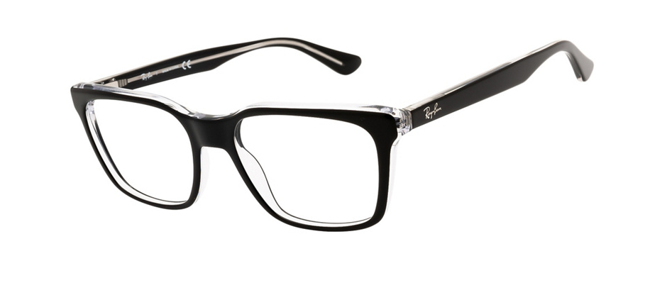 product image of Ray-Ban RX5391-53 Black on Transparent