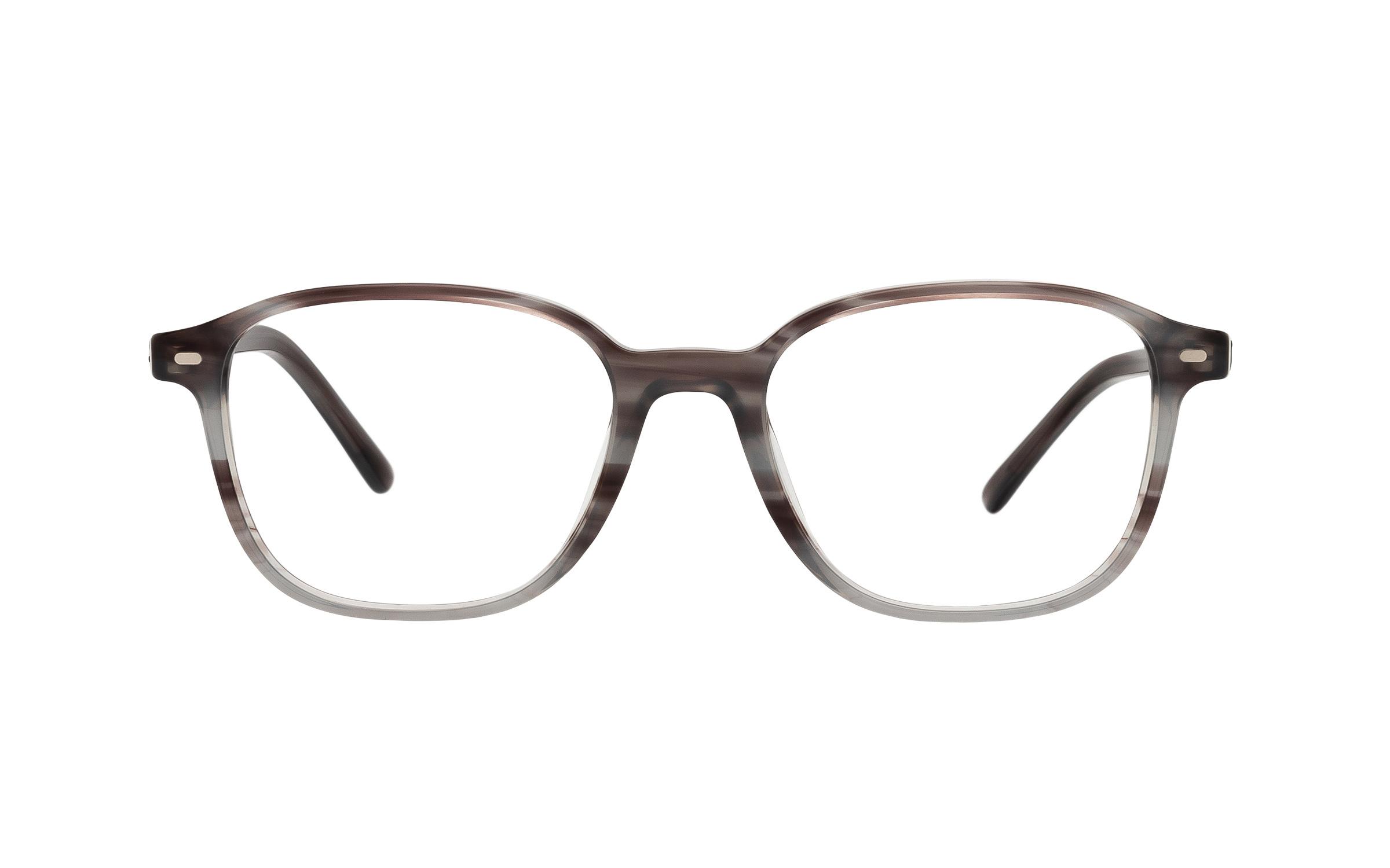 http://www.coastal.com/ - Ray-Ban Leonard RX5393 8055 (49) Eyeglasses and Frame in Striped Grey | Metal – Online Coastal