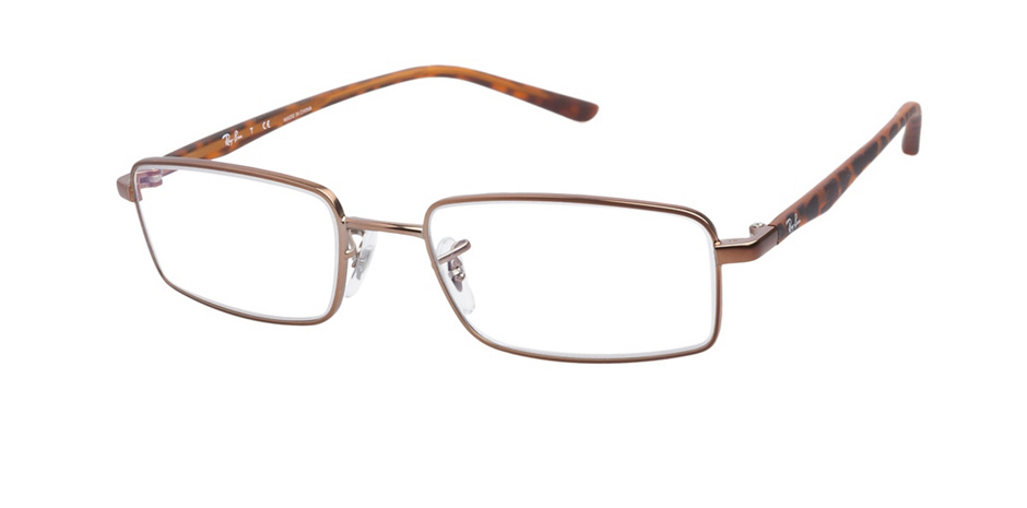 product image of Ray-Ban RX6236 Matte Light Brown