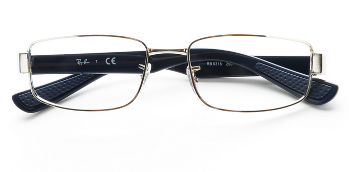 product image of Ray-Ban RX6318 Silver Blue