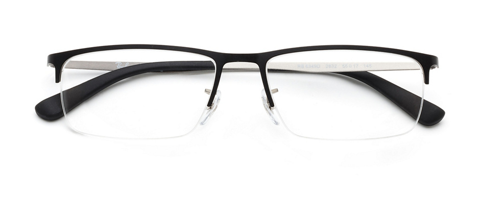 product image of Ray-Ban RX6349-D-55 Matte Black