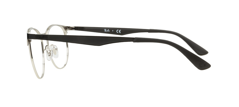 c08908c821e product image of Ray-Ban RX6365-53 Black Silver