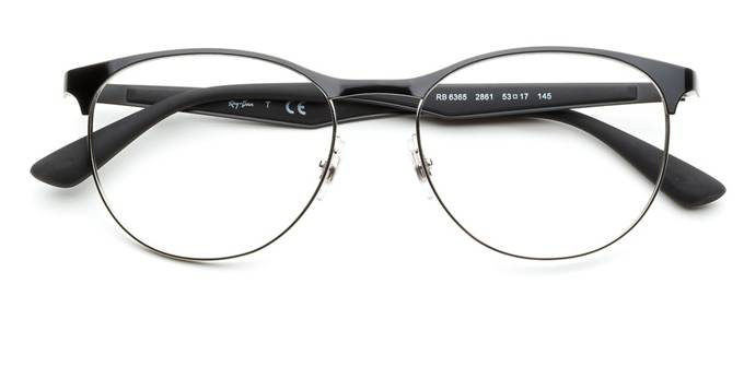 product image of Ray-Ban RX6365-53 Black Silver