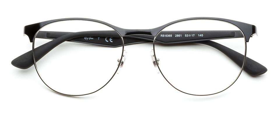 f2f0a4e1d41 product image of Ray-Ban RX6365-53 Black Silver
