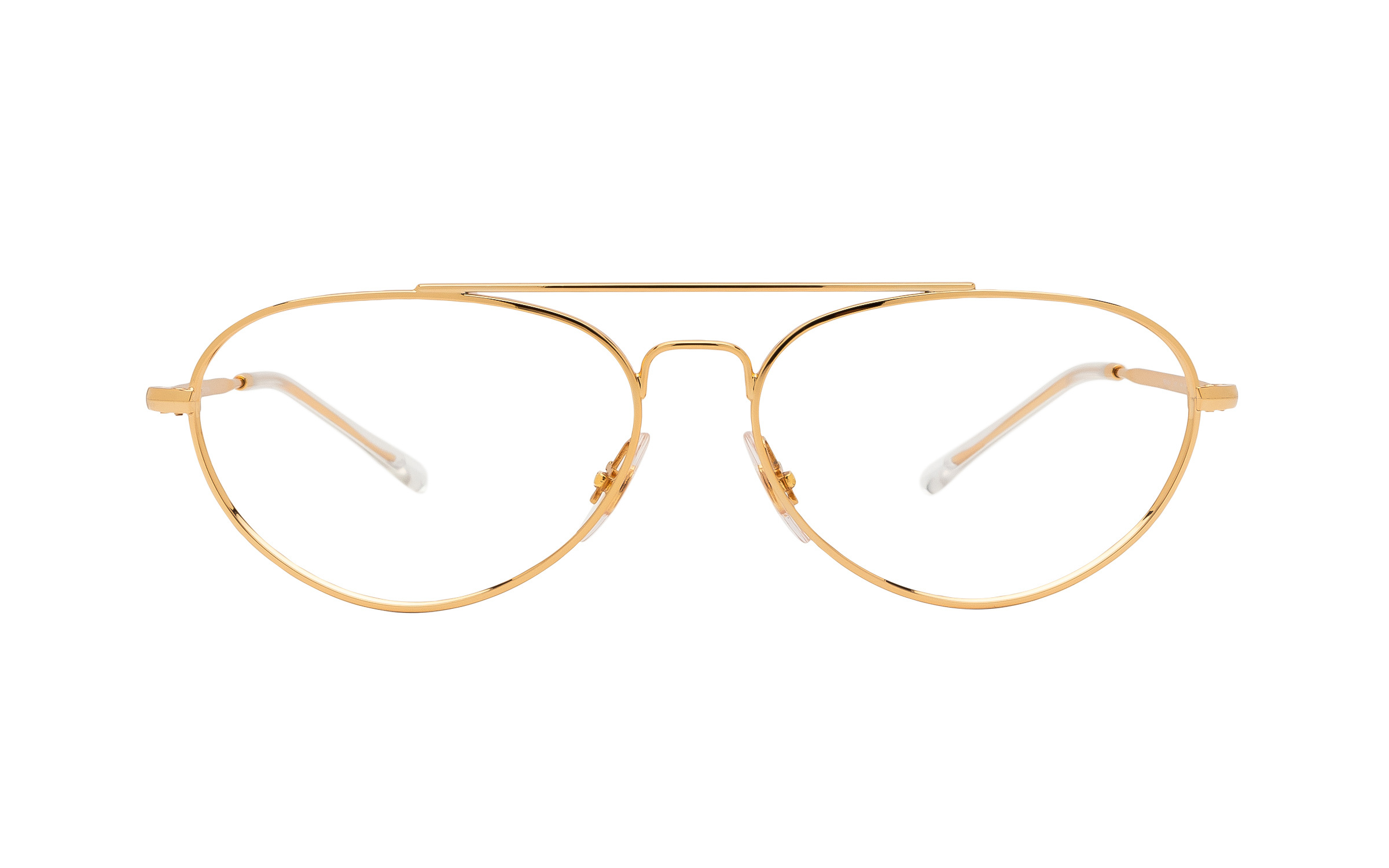 http://www.coastal.com/ - Ray-Ban RX6454 2500 (56) Eyeglasses and Frame in Gold – Online Coastal