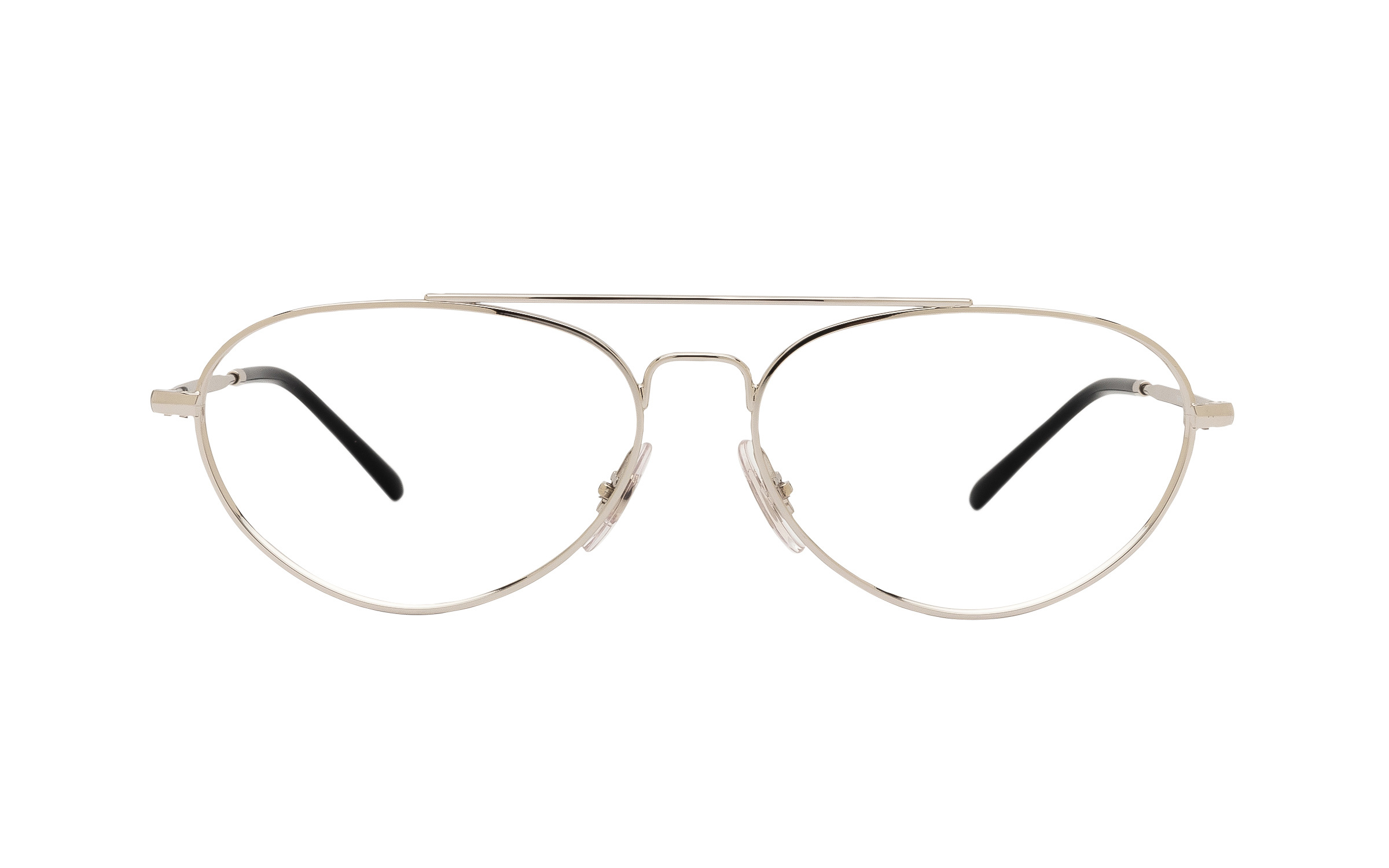 http://www.coastal.com/ - Ray-Ban RX6454 2501 (56) Eyeglasses and Frame in Silver – Online Coastal