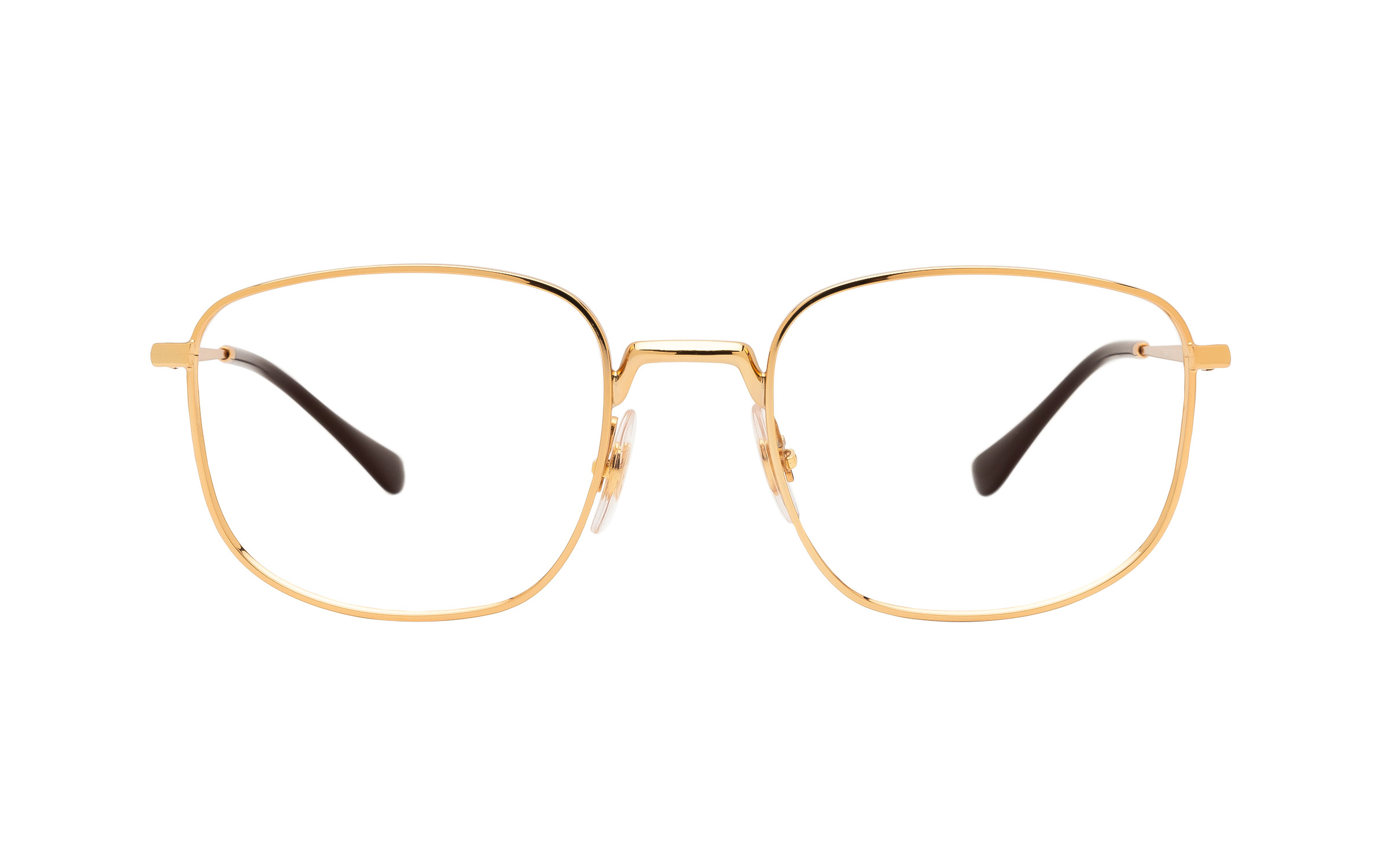 http://www.coastal.com/ - Ray-Ban RX6457 2500 (51) Eyeglasses and Frame in Gold | Metal – Online Coastal