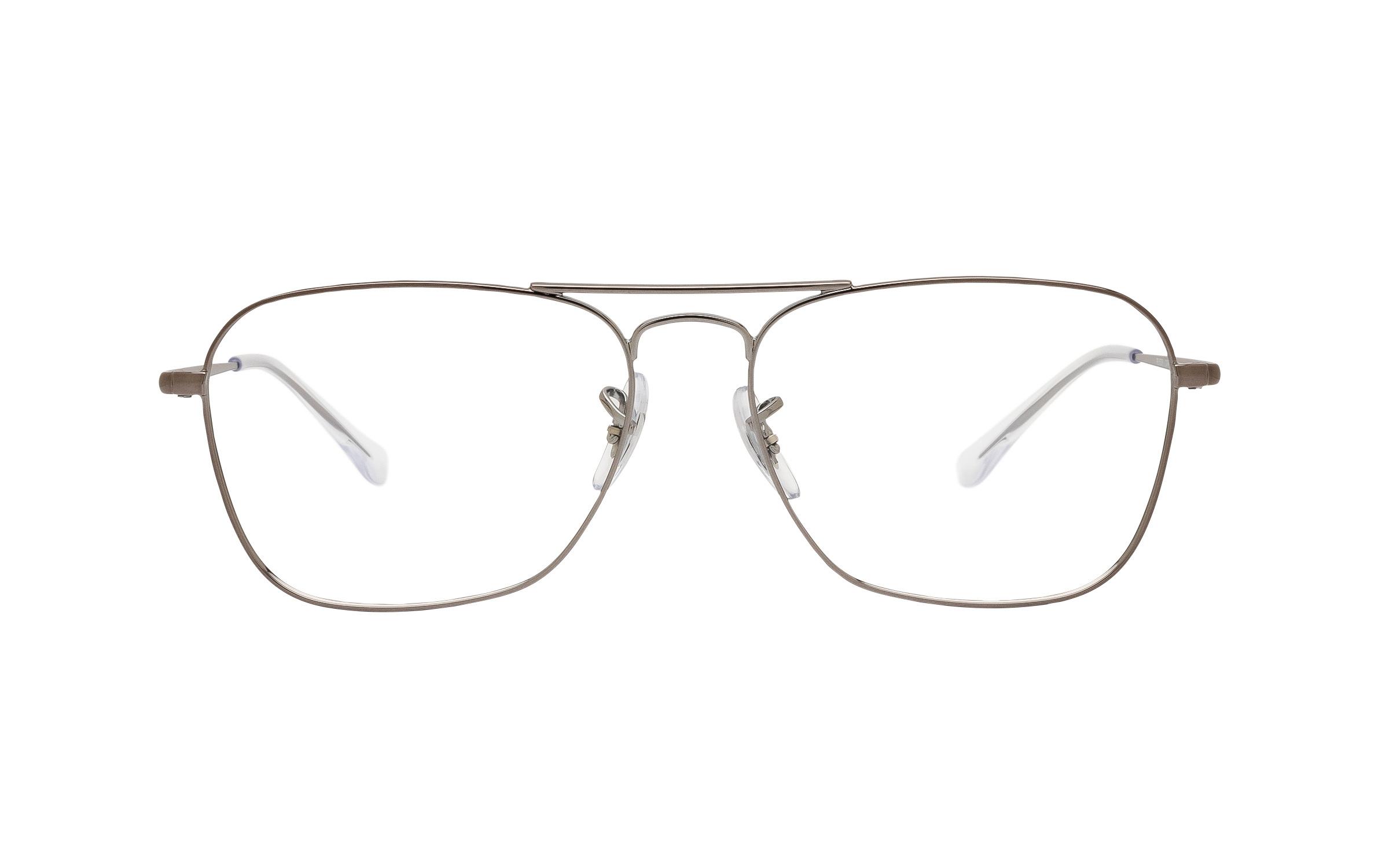 http://www.coastal.com/ - Ray-Ban Caravan II RX6536 2502 (55) Eyeglasses and Frame in Gunmetal Grey – Online Coastal